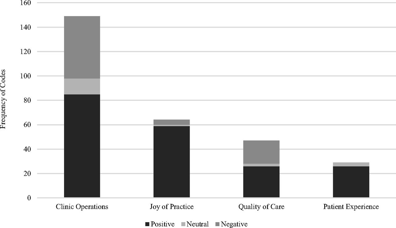 One Year of Family Physicians' Observations on Working with